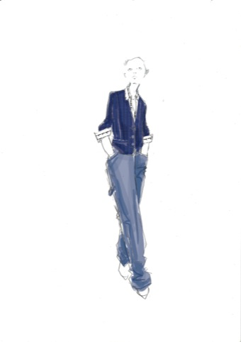 Eley Kishimoto Centre Point shirt and jacket design