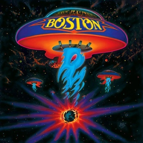 Boston album cover by Paula Scher