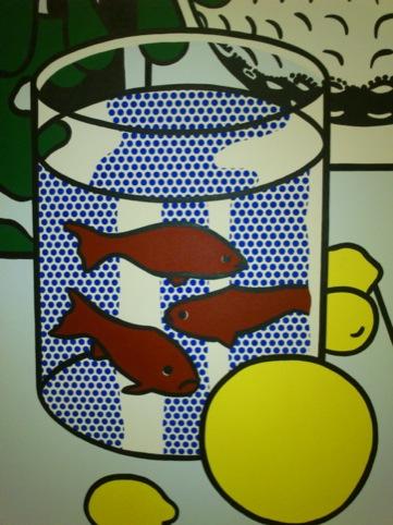 Still Life with Goldfish, 1972