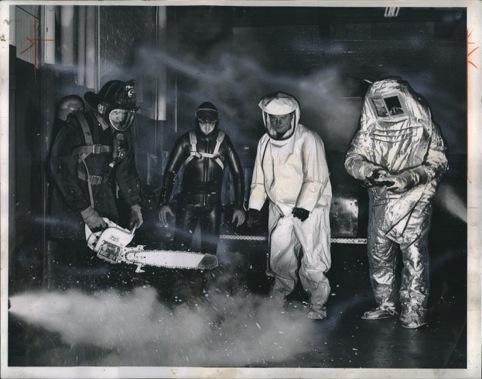 Firemen, Daily News 1962