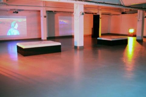 Dinos Chapman's  Vinyl Factory installation