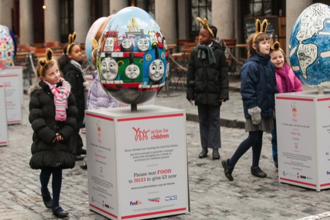 The eggs at Covent Garden