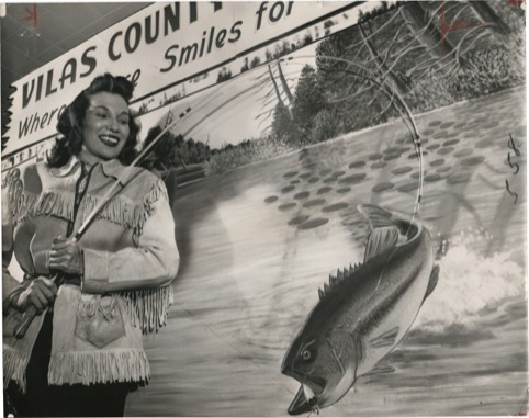 Maggie Swampwater, Woman Indian Guide, Daily News 1950