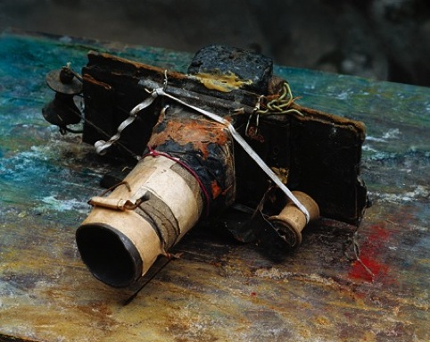 Miroslav Tichy, Homade Camera, courtesy foundation Tichy Ocean