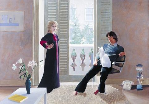 Mr and Mrs Clark and Percy, 1970 - 1,  David Hockney