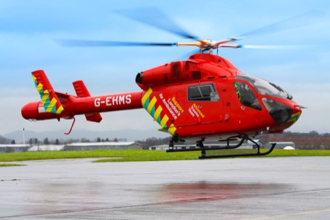 The new London Air Ambulance helicopter design