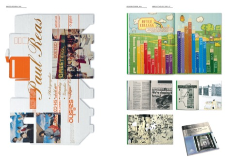 Student and professional projects from Andrew Stevens at Graphic Thought Facility