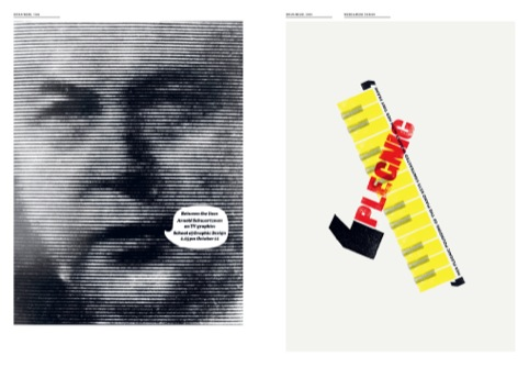 Brian Webb's student and professional poster projects