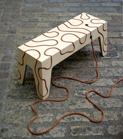 Rope Bench, Yoav Reches