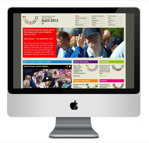 The new 2013 Special Olympics website