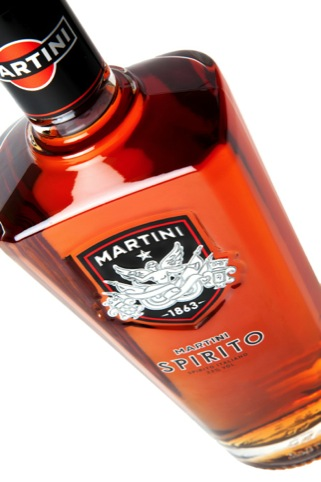 The heavier 'masculine' Spirito bottle
