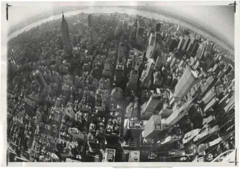 Skyline of Manhattan, Wide World Photo 1977