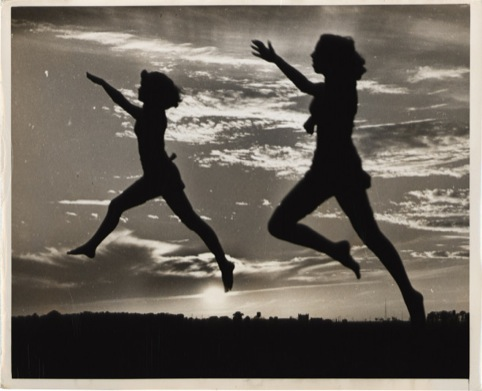 Sunset Ballet – Twin Leap, Arthur B. Rickerby 1950