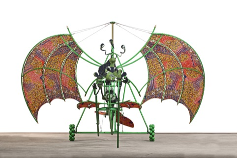 Alien Man on Flying Machine 2011