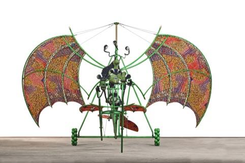 Alien Man on Flying Machine 2011