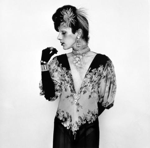 Peter Hujar  Cockette John Rothermel in a Fashion Pose (Cockette) 1973
