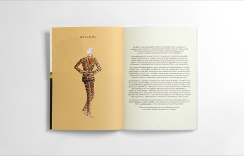 London Fashion Week book