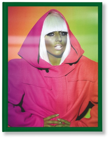 A lenticular cover portrait of Lady Gaga