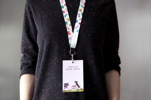 London Fashion Week lanyard