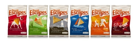 Warburtons Escapes, designed by Family and Friends