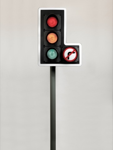 David Mellor, National traffic light system,1966, from the Design Museum's permanent collection