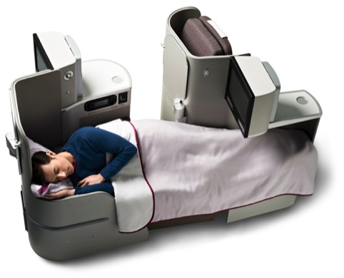 A New business class seat for the A330 Airbus
