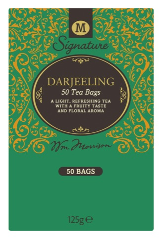 Darjeeling M Signature tea