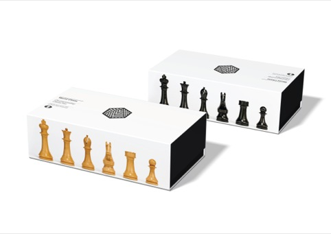 Boxed-up chess set