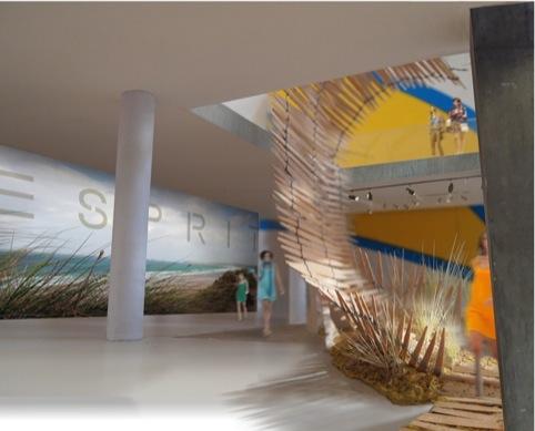 Esprit and Nagan Johnson architects, California Wave