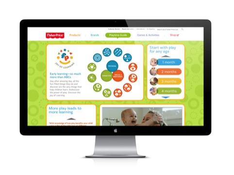 Joy of Learning branding on website