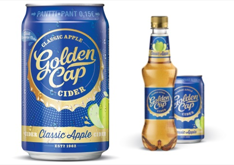 Golden Cap cider