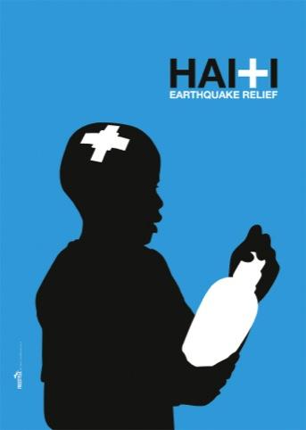 Haiti poster, by Michael Thompson
