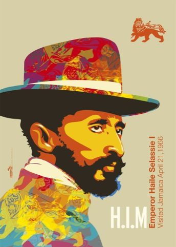 Emperor Haile Selassie, by Michael Thompson