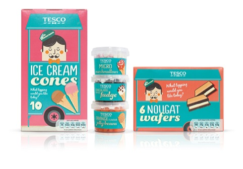 Mr Nicecream range