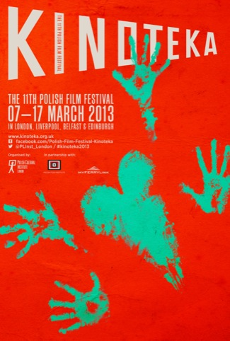 Tomasz Opasinski's Kinoteka 2013 festival poster