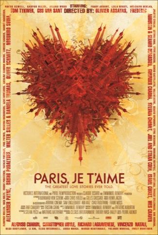 Tomasz Opasinski's Paris je t'aime poster