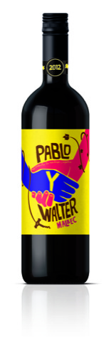 Pablo Y Walter bottles