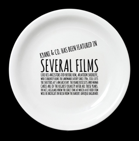 Dishoom plates