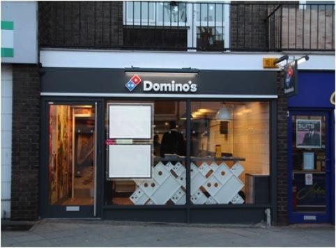 Pilot Domino's store, Stowmarket, Suffolk