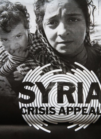 Syria Crisis Appeal campaign
