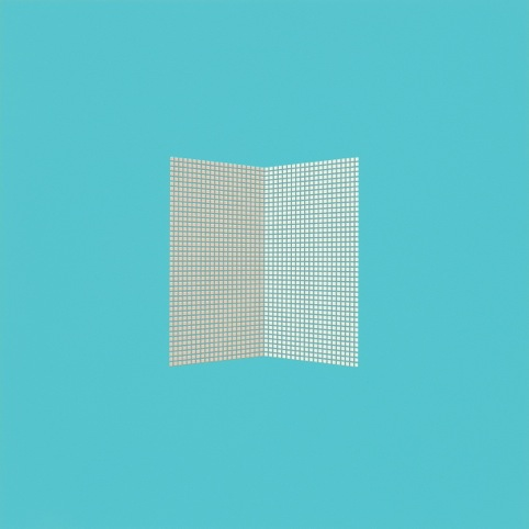 TESS JARAY RA, After Malevich Pale Blue. Part of The London Suite II, 2012