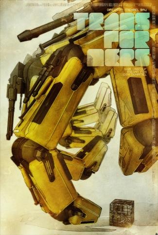Tomasz Opasinski's Transfomers poster