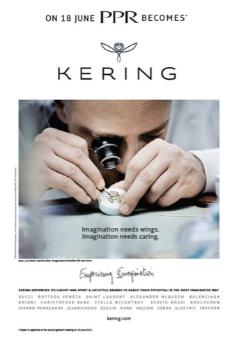 Kering naming announcement