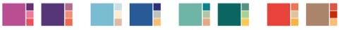 Kering identity colour palette