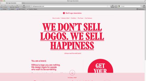 Red Logo Associates website