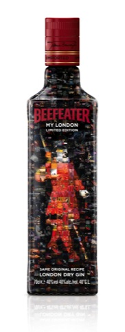 Limited edition Beefeater bottle by Coley Porter Bell