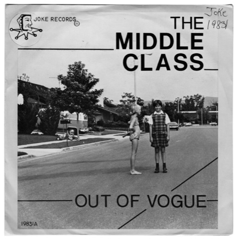 The Middle Class, Out Of Vogue, Joke Records, 1978