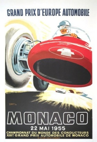 1955 poster by Jacques Ramel