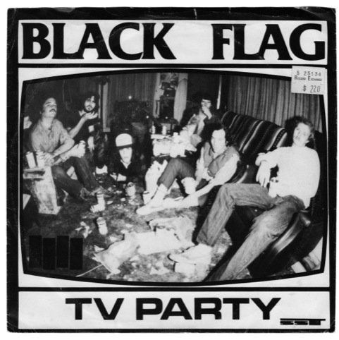 Black Flag, TV Party, SST Records, Photography Glenn E Friedman, 1985