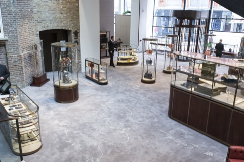 Asprey store interiors